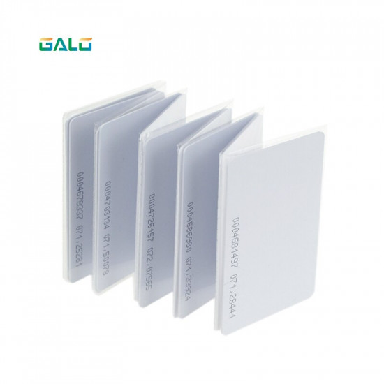 RFID card 125 KHZ RFID card EM Thick ID card suitable for access control and attendance cards