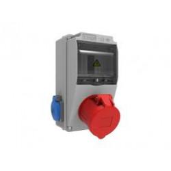 Bemis BD1-2127-2020 5 / 32A 380V 1pcs Front 1 / 16A 220V 2pcs Combination of front sockets