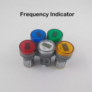 TOMZN AC 0-100Hz Hz 22MM LED frequency meter indicator pilot light 5 Colors