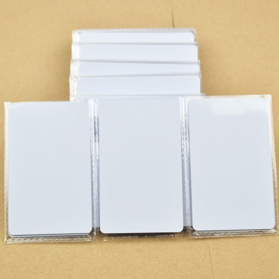 Card KeyFobs S50 Mifare 1K Chip 13.56MHz RFID Cards for Access Control