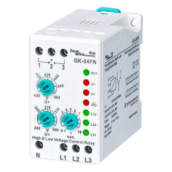 Phase Sequence Phase Failure Voltage Analogue Adjustable Protection Relay (With Neutral Wire)