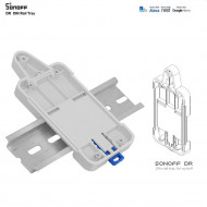 SONOFF DR DIN Rail Tray Adjustable Mounted Rail Case Holder For Wifi Remote Control Switch Sonoff