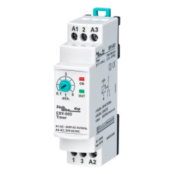 On Delay Time Relay Electronic Adjustable (0.1-6min.)