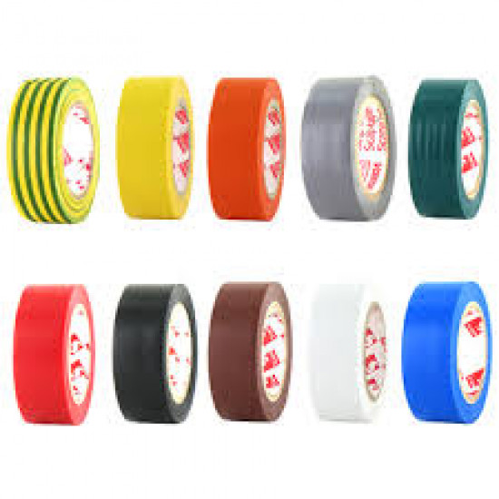 multi-colored PVC adhesive tapes