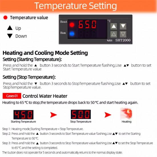 Temperature Humidity Controller SHT2000