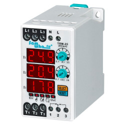 Digital (Manual / Semi-Automatic / Automatic Reset) Electronic Overload Asymmetry Relay Thermal Relay TRM 25  150-260VAC