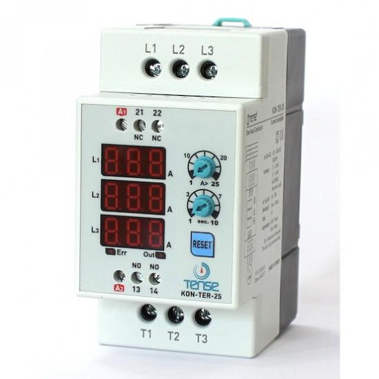 Digital contactor and overload relay Tense KON-TER-25