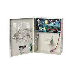 CCTV UPS Power Supply DC 12V 5A 9Channel Uninterruptable Boxed Power