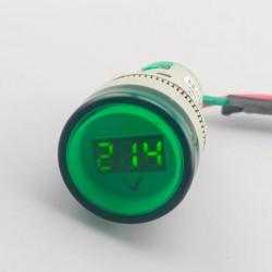 22MM TOMZN AC 60-500V LED Voltmeter voltage meter indicator pilot light 5 colours
