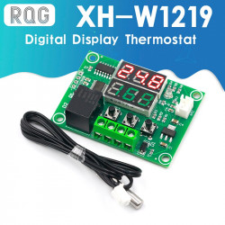 Dual LED Digital Display Thermostat Temperature Controller XH-W1219 DC 12V
