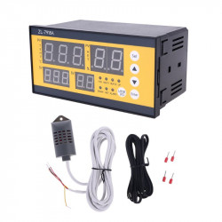 ZL-7918A Automatic Incubator Controller 100-240V LCD Tem Humidity Control