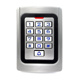 Metal RFID Stand Alone Access Control waterproof Keypad RW K10