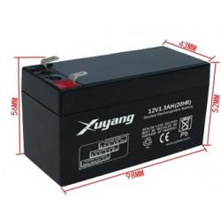 lead acid battery rechargeable battery Security door solar 12 v battery back-up UPS backup power 1,3Ah