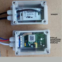IP66 Waterproof Junction Box Waterproof Case Water-resistant Shell For Sonoff Basic/RF/Dual