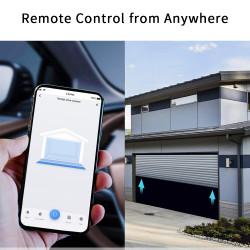 Tuya Smart Life WIFi Garage Door Controller Opener with Sensor App Alert Voice Control Alexa Echo Google Home