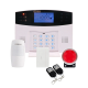 TIGER Wireless 99 Zone LCD GSM HOME ALRM SYSTEM