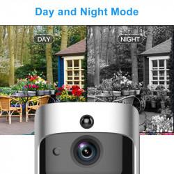 Smart doorbell wifi door bell camera Visual Intercom with Chime Night vision IP Wireless Home Alarm Security Camera V5