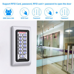 IP68 Waterproof  standalone Access Control System Rfid Access Controller keypad S601EM
