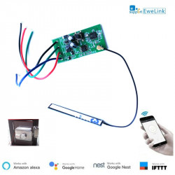 12VDC Smart switch wi-fi wifi relay module door power supply Electronic door lock eWelink APP For Alexa Google home