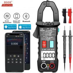 Digital Clamp meter BSIDE ZT-5BQ Wireless Technology Smart multimeter True RMS Voltmeter Ammeter Auto Rang Capacitor NCV Tester