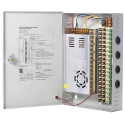 CCTV power supply box 18 channel DC12V 20A 240W