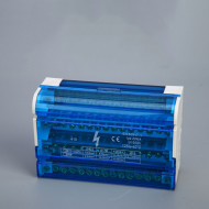 Cabinet Copper Plastic waterproof junction box 4 * 15 cabinet 125A
