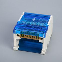Cabinet Copper Plastic waterproof junction box 4 * 7 cabinet 125A