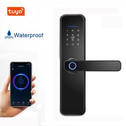 Smart Lock Waterproof Fingerprint Door Lock Electronic Home Security Password Door Lock APP Remotely  Digital Lock