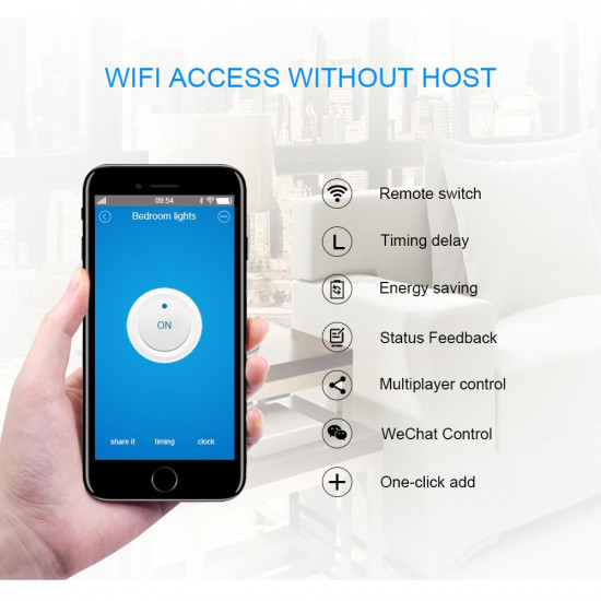 ITEAD Sonoff Basic WiFi Smart Switch Wireless Home Automation