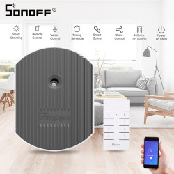 SONOFF D1 Wifi Smart Dimmer Switch DIY Smart Home EWeLink APP Voice RM433 RF Remote Work With Alexa Google Home
