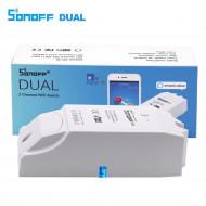SONOFF DUAL 2 CHANNEL WIFI WIRELESS  SWITCH SMART HOME