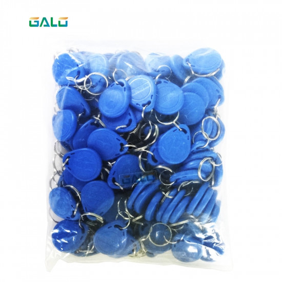 125Khz Keychains RFID Proximity ID Card Token Tags Key Fobs for access control reader