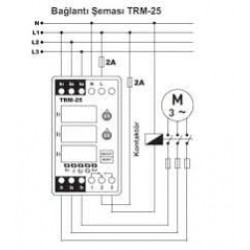 Overload relay Tense TRM-25