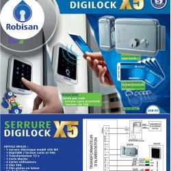 Kit Digilock X5