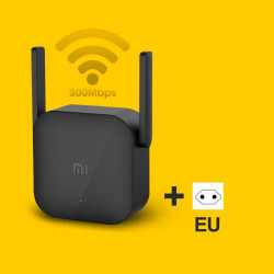 Xiaomi WiFi Amplifier Pro 300Mbps Amplificador Repeater Signal Cover Extender 2.4G Repeater Network With EU Adapter